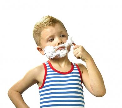 Mi primer set de afeitado