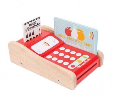 Datáfono de juguete de madera