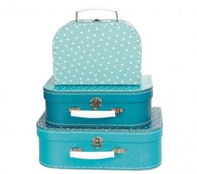 Conjunto de 3 maletas estrella