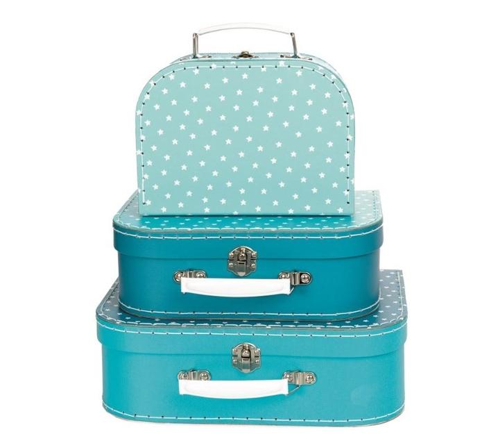 Conjunt de 3 maletes estrella