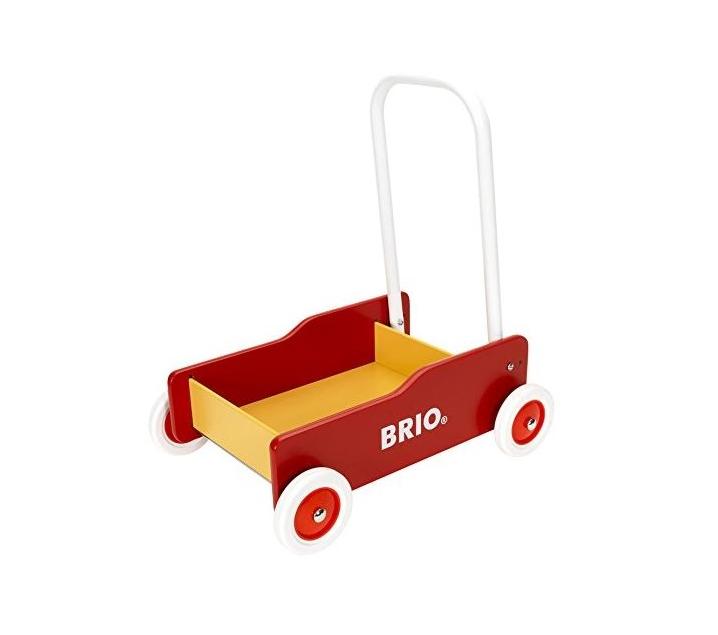 Carro de madera para empujar