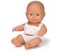 Muñeco bebé sexuado europeo 21cm.