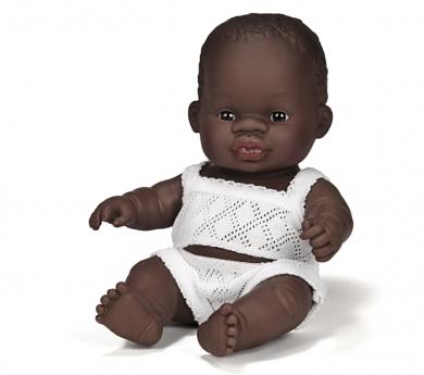 Nino bebè sexuat africà 21 cm.
