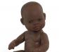 Nina bebé sexuada trets africans 32 cm.