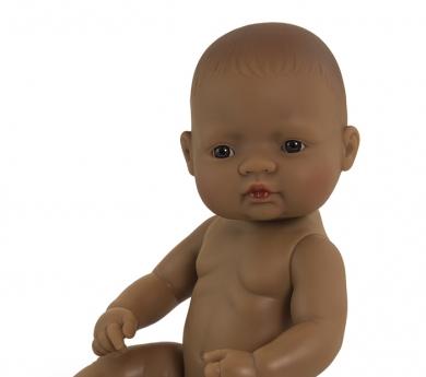 Nina bebé sexuada trets llatinoamericans 32 cm.