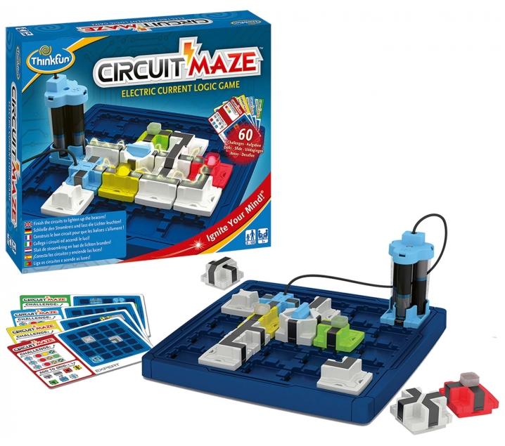 Juego de lógica Circuit Maze