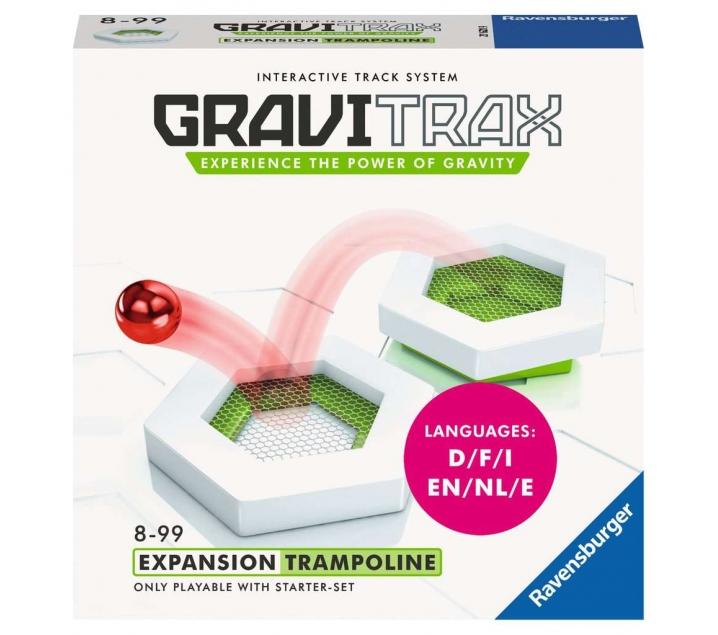 Gravitrax. Expansión trampolín