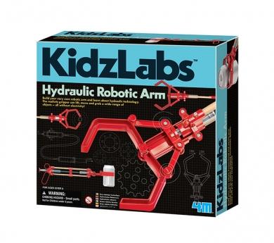 Construye un brazo robótico hidráulico