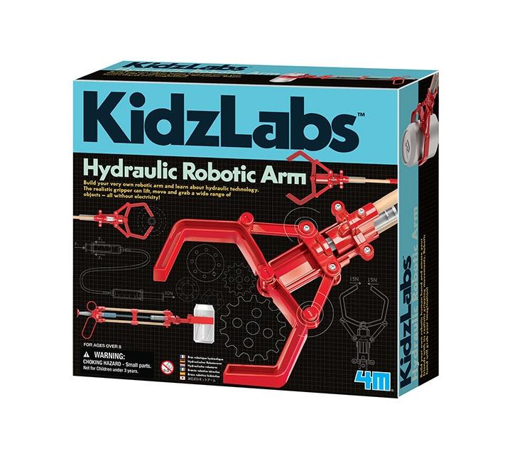 Construeix un braç robòtic hidràulic