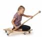 Tauló de paddle amb rodes