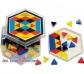 Peonza de Experimentación Prismo colores sólidos