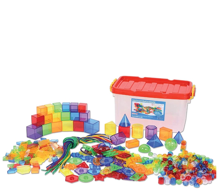 498 piezas translúcidas