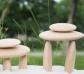 20 Piedras de madera con tarjetas de actividades