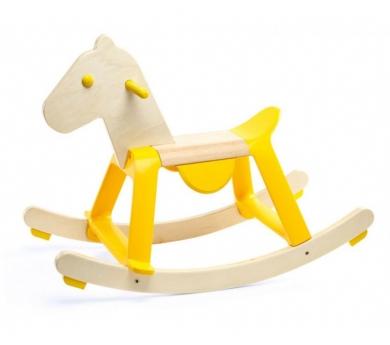 Cavallet balancí groc