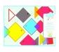 Collage de cuadrados mágicos
