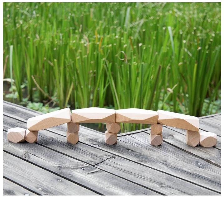 Gemas de madera naturales