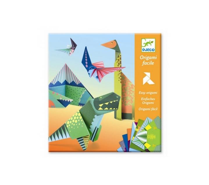 Papiroflèxia origami dinosauiros