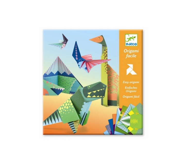 Papiroflexia origami dinosaurios