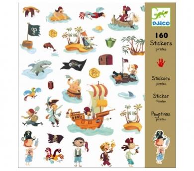 160 pegatines pirates
