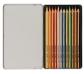 Estuche metálico de 12 lápices de colores