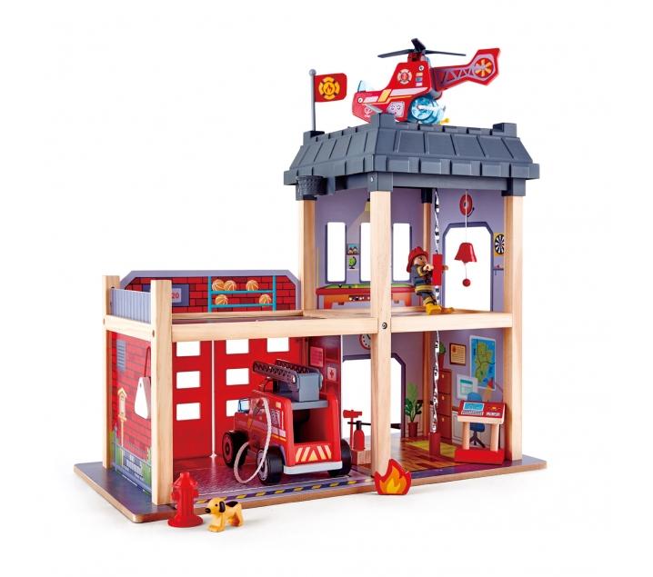 Parque de bomberos gran ciudad
