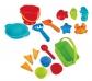 Complet set de joguines de platja amb bossa de xarxa