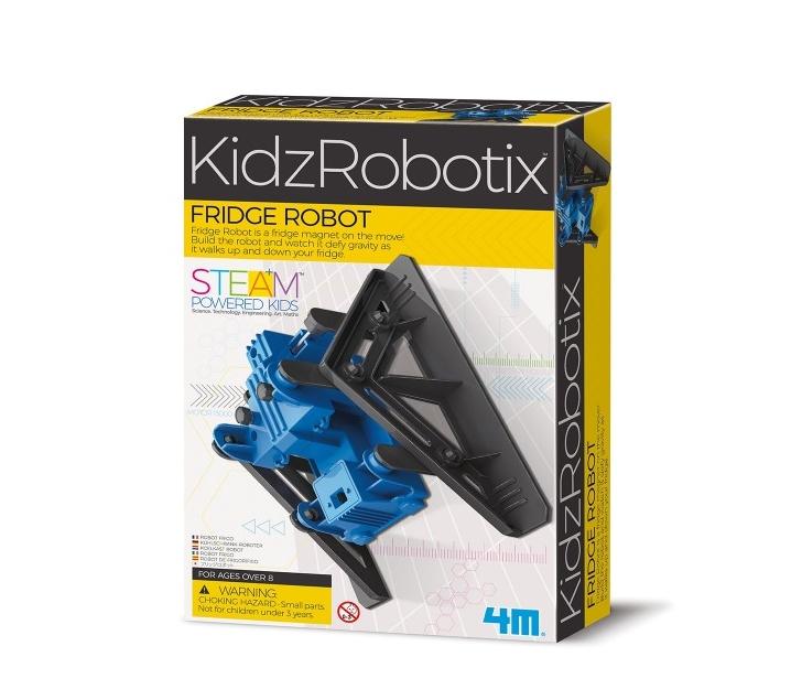 Construye un robot magnético