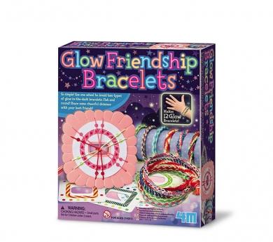 kit brazaletes que brillan en la oscuridad