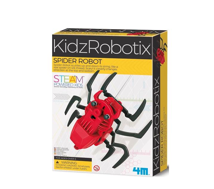 Munta un robot aranya