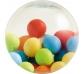 Pelotita de goma efecto bolas de colores
