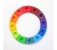 Anillo de cumpleaños de colores