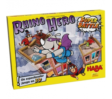 Rhino Hero Super Batalla