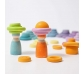 Anillas de construcción color pastel