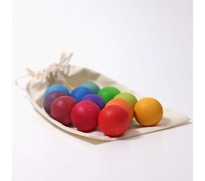 Bolas arco iris Grimm's pequeñas