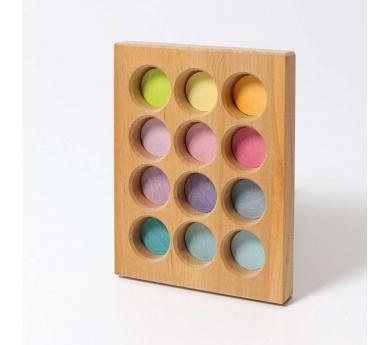 Tablero de clasificación tonos pastel Grimm's