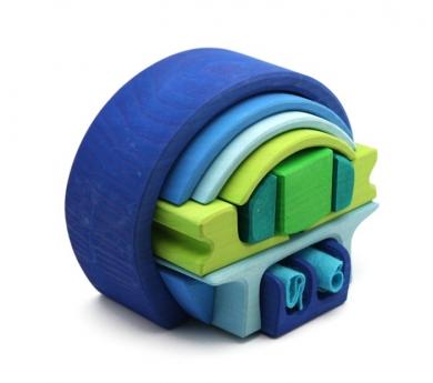 Caseta Rodona compacta