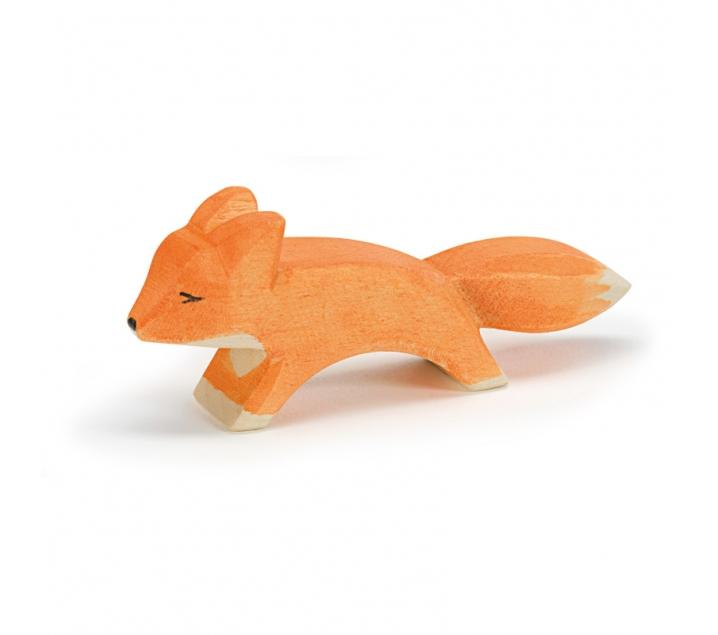 Figura de madera Ostheimer - Zorro pequeño corriendo