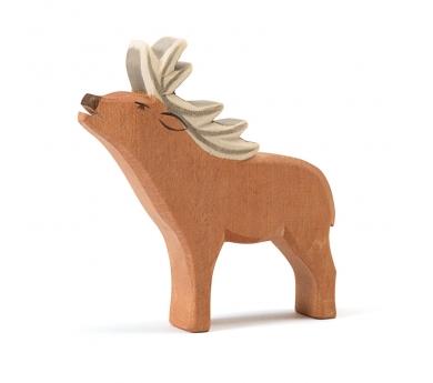 Figura de madera Ostheimer -  Ciervo