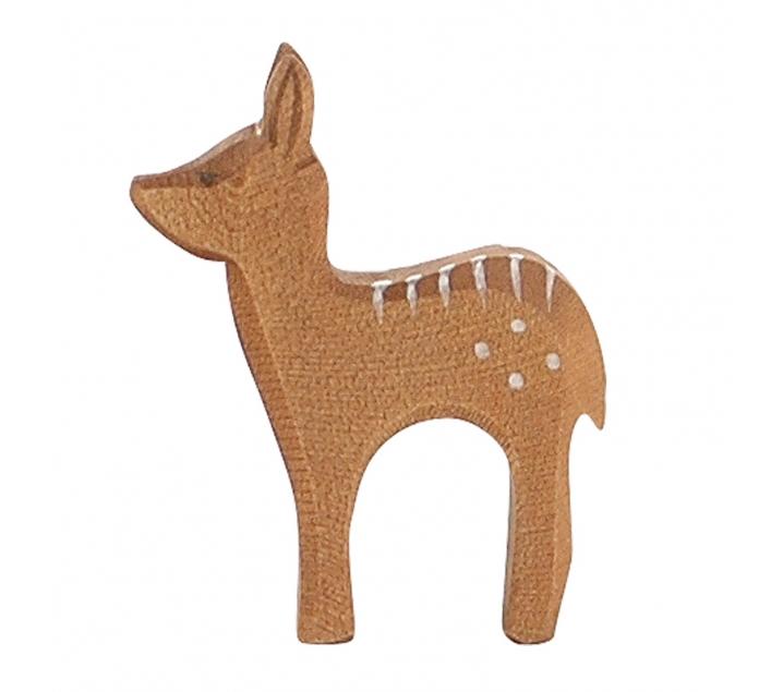 Figura de madera Ostheimer - Cervatillo de pie