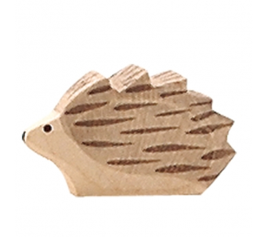 Figura de madera Ostheimer -  Erizo pequeño