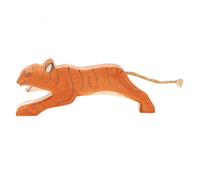 Figura de madera Ostheimer - Tigre saltando