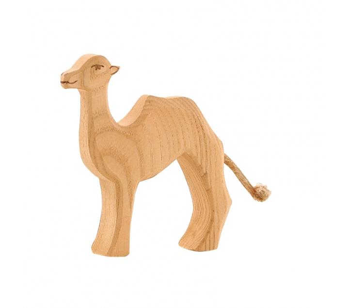 Figura de madera Ostheimer - Camello pequeño