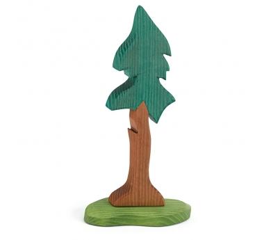 Figura de madera Ostheimer - Abeto alto con soporte