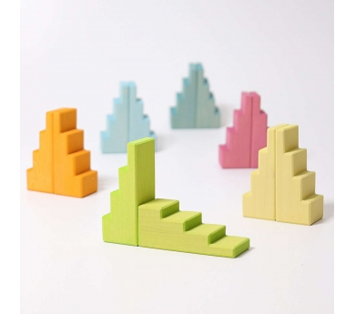 Blocs en escala color pastel de Grimm 's