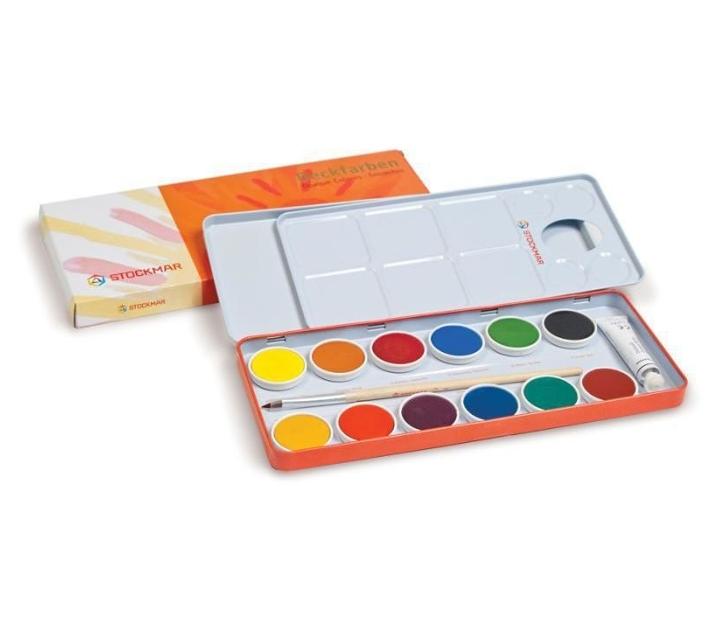 Caixa de colors opacs Stockmar