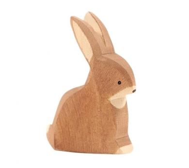 Figura de madera Ostheimer - Conejo sentado