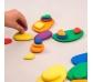 Conjunt de 26 peces de riu de colors