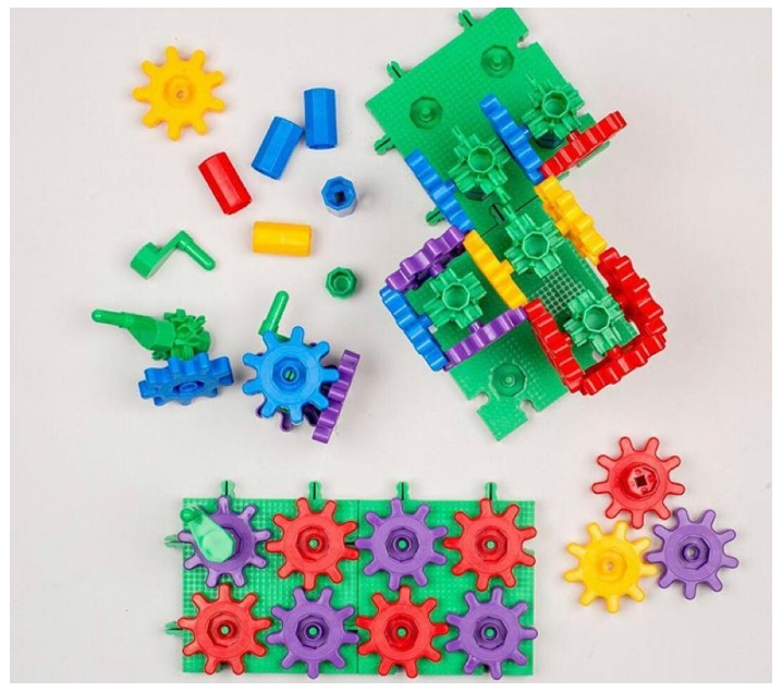 Juego de engranajes 120 piezas