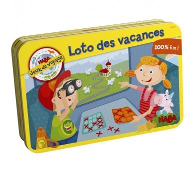 Bingo infantil de viaje