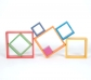 7 Marcos cuadrados arco iris